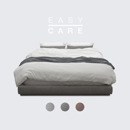 M5-Fabric Bed_EASY CARE / 3 Color(No Head)