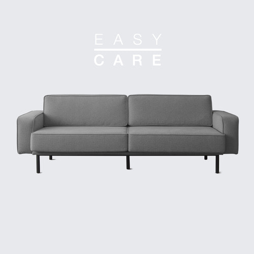 Outline Sofa_Dim Gray / 3 seated