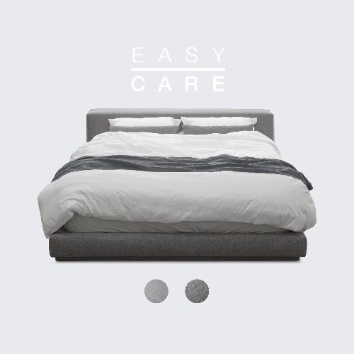 M5-Fabric Bed_EASY CARE / 2 Color