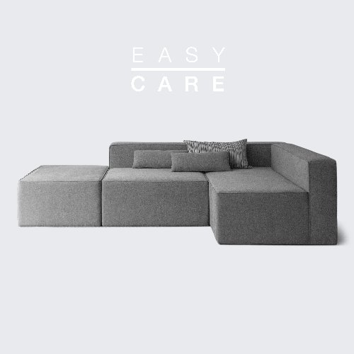 Timeless Sofa ABC / EASY-CARE Dim Gray