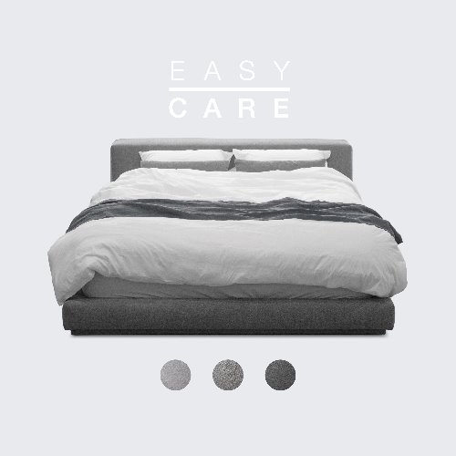 M5 Fabric Bed / EASY-CARE