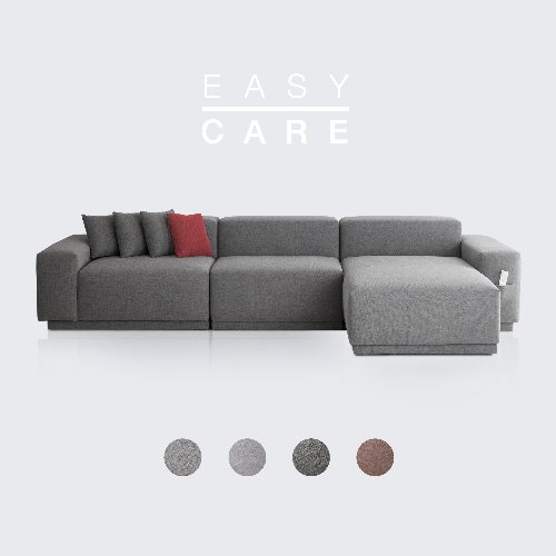 M5 Fabric Sofa Couch EASY-CARE / 5 seated