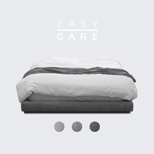 [PRE-ORDER] M5-Fabric Bed_EASY CARE / 3 Color(No Head)