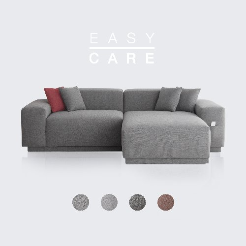 M5 Fabric Sofa Couch EASY-CARE / 3 seated