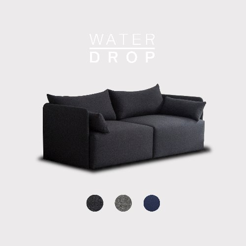 Fond Sofa 3 seated / WATER-DROP 3 Color