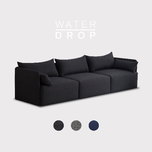 Fond Sofa 5 seated / WATER-DROP 3 Color
