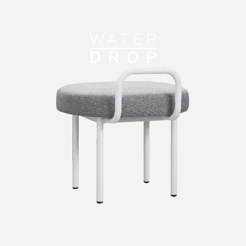 Bold Chair_WATER DROP Smoke Gray