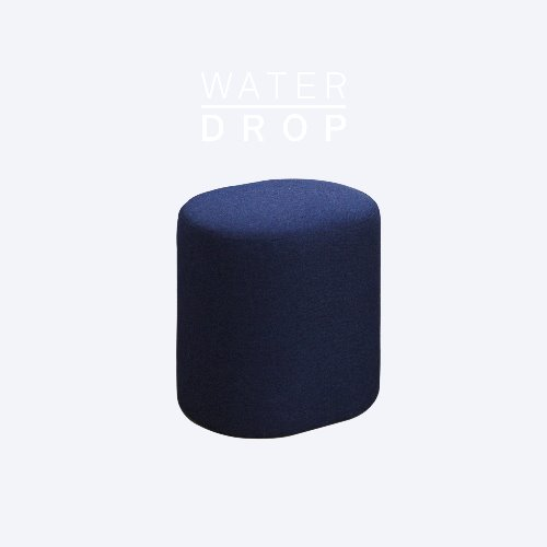 Track Sofa Stool / WATER DROP Indigo Blue