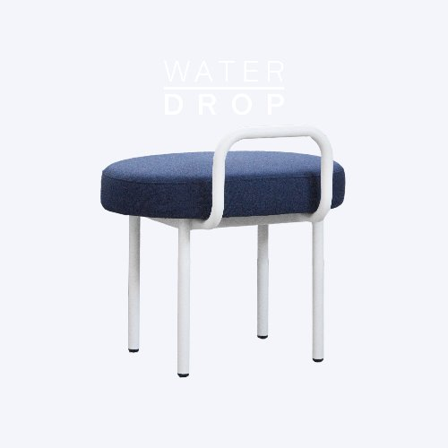 Bold Chair_WATER DROP Indigo Blue