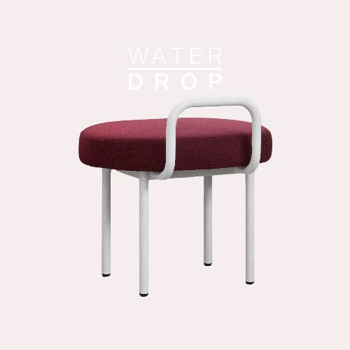 Bold Chair_WATER DROP Cherry Red
