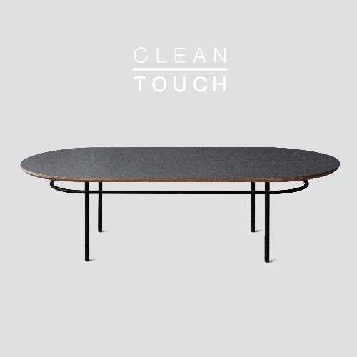 Track Sofa Table / CLEAN-TOUCH Dark Gray