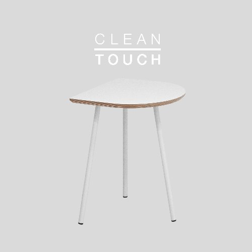 Half Track Table Basic / CLEAN-TOUCH White