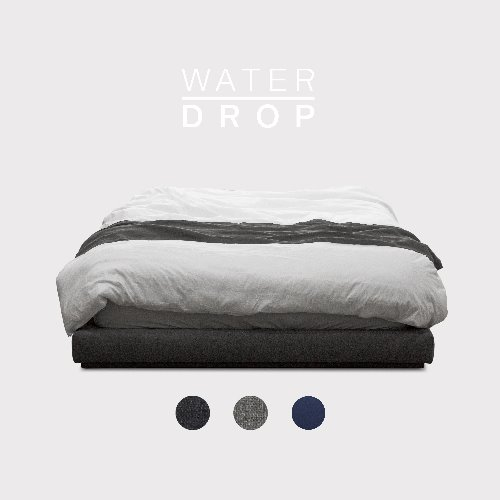 M5-Fabric Bed_WATER DROP / 3 Color(No Head)