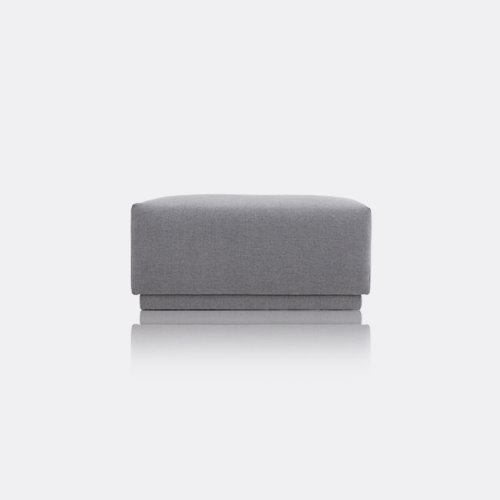 M5 Fabric Sofa Stool / Chic Gray