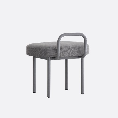 Bold Chair_Easy Care Chic Gray & Gray Mistake