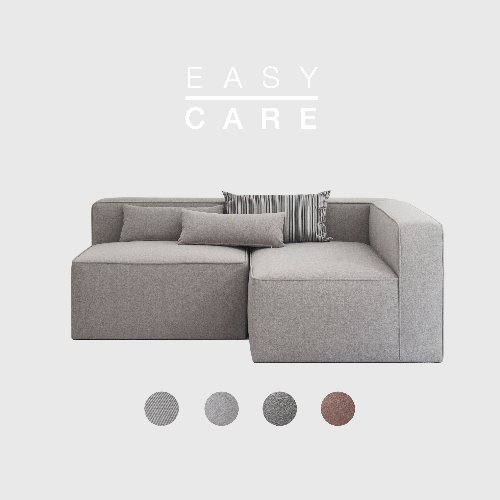 [SLOW PAY] Timeless Sofa A+B Module / EASY-CARE 4 Colors