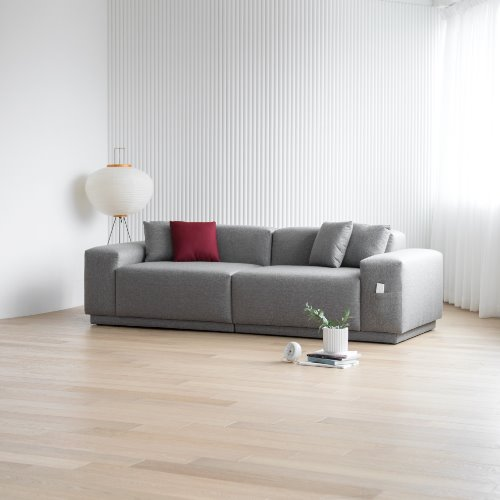 [PRE-ORDER] M5 Fabric Sofa 3 seated / CARE-PLUS WEAVING