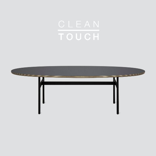 Less Sofa Table / CLEAN-TOUCH Dark Gray