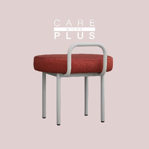Bold Chair / CARE-PLUS MICRO Cherry Red