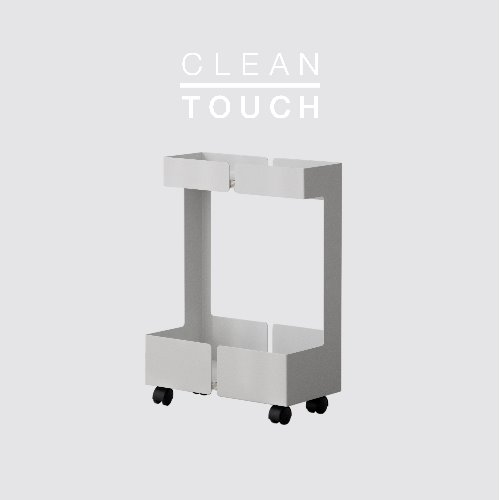 Flat Trolley / CLEAN-TOUCH White