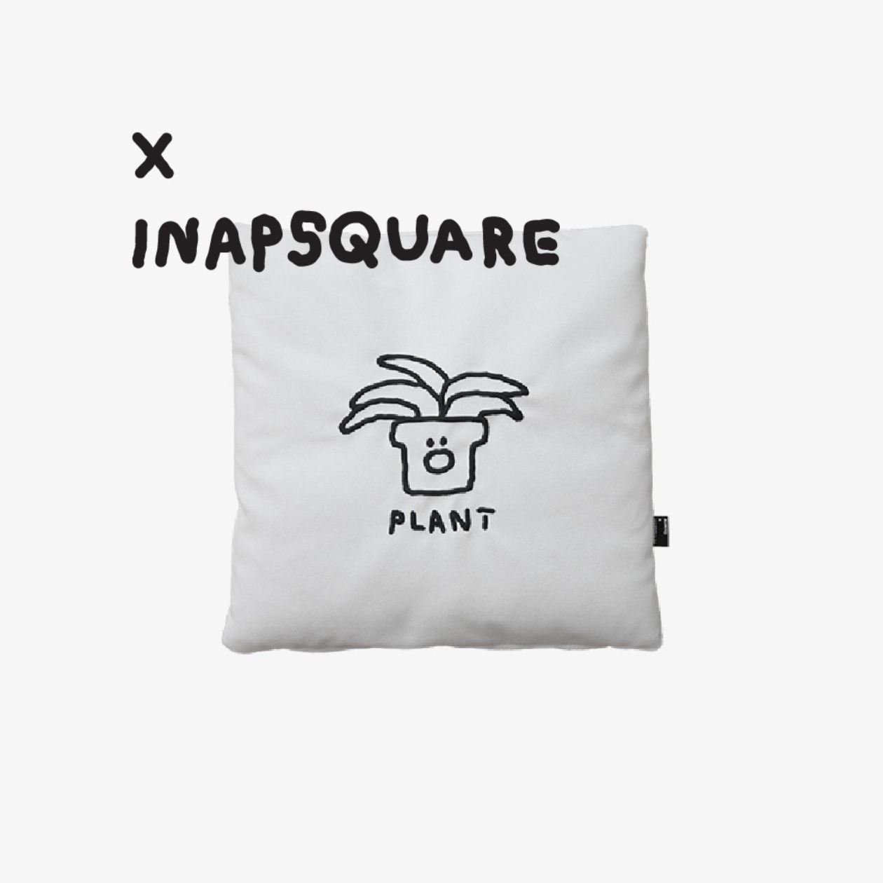 LAZY CUSHION / INAPSQUARE PLANT EDITION