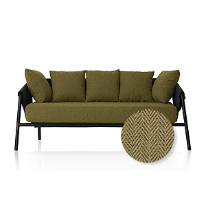 M4-Choice Sofa / Nature Green