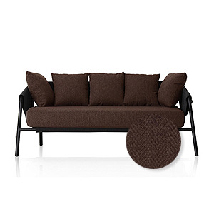 M4-Choice Sofa / Chocolate Brown