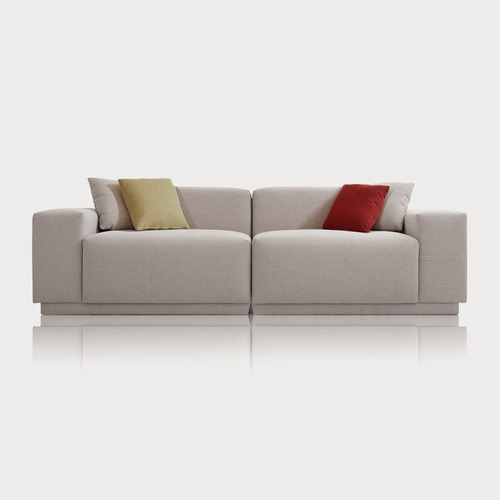 M5_Fabric Sofa / Milky Beige