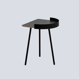 Half Track Table / Dark Gray