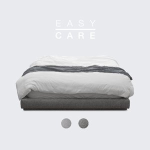 M5-Fabric Bed_EASY CARE / 2 Color(No Head)