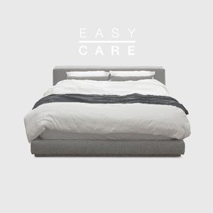 M5-Fabric Bed_EASY CARE Warm Gray