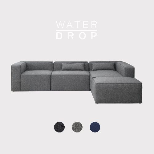 [PRE-ORDER] Timeless Sofa A+B+C+D Module / WATER-DROP