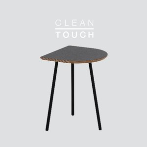 Half Track Table Basic / CLEAN-TOUCH Dark Gray