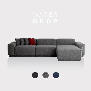 [PRE-ORDER] M5 Fabric Sofa Couch WATER-DROP / 5 seated