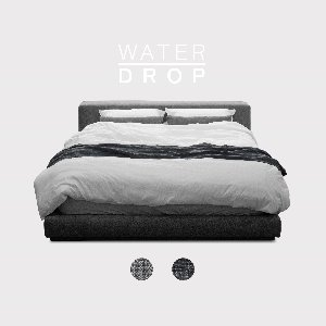 M5-Fabric Bed_WATER DROP / 2 Color