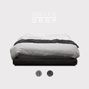 M5-Fabric Bed_WATER DROP / 2 Color(No Head)