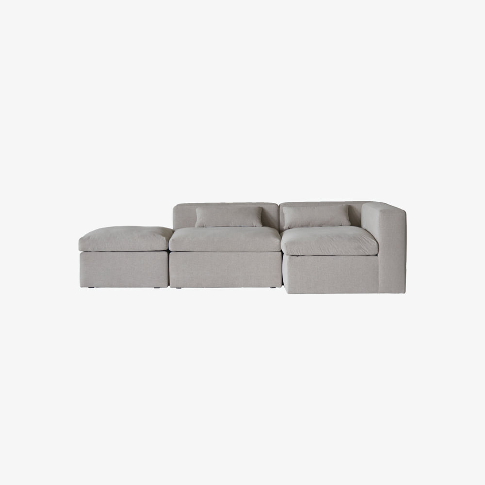 TIMELESS SOFA SOFT A+B+C